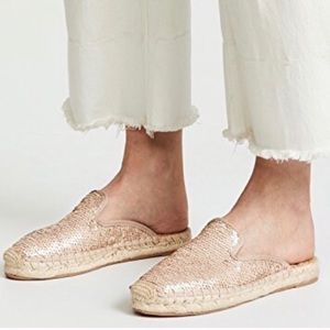 NEW Sam Edelman Kerry Sequined Espadrille Mule